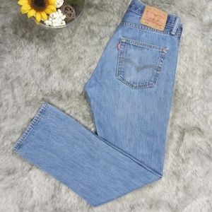 Levi's 501 Blue Jeans Button Fly